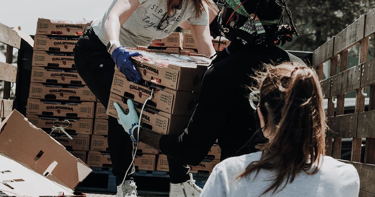 CleanEvent Services employees support Compassion London