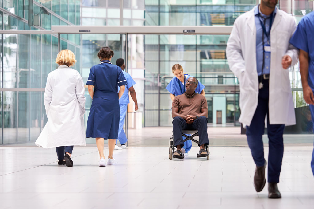 Healthcare Cleaning Services and Hospital porter and logistics